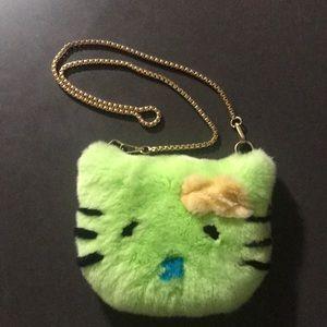 Other - Hello Kitty real rex rabbit fur crossbody bag